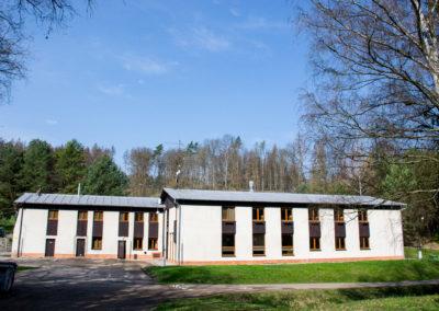 Hlavní budova celkový pohled